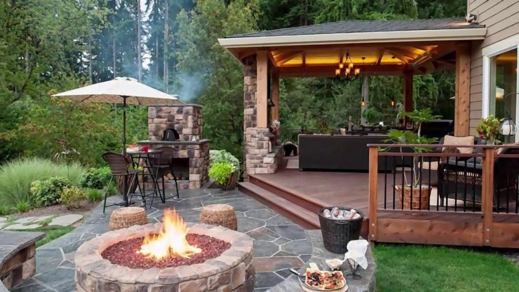 Outdoor Fireplace Installation Houston, Outdoor Fireplace Construction, Backyard Fireplace Builders
