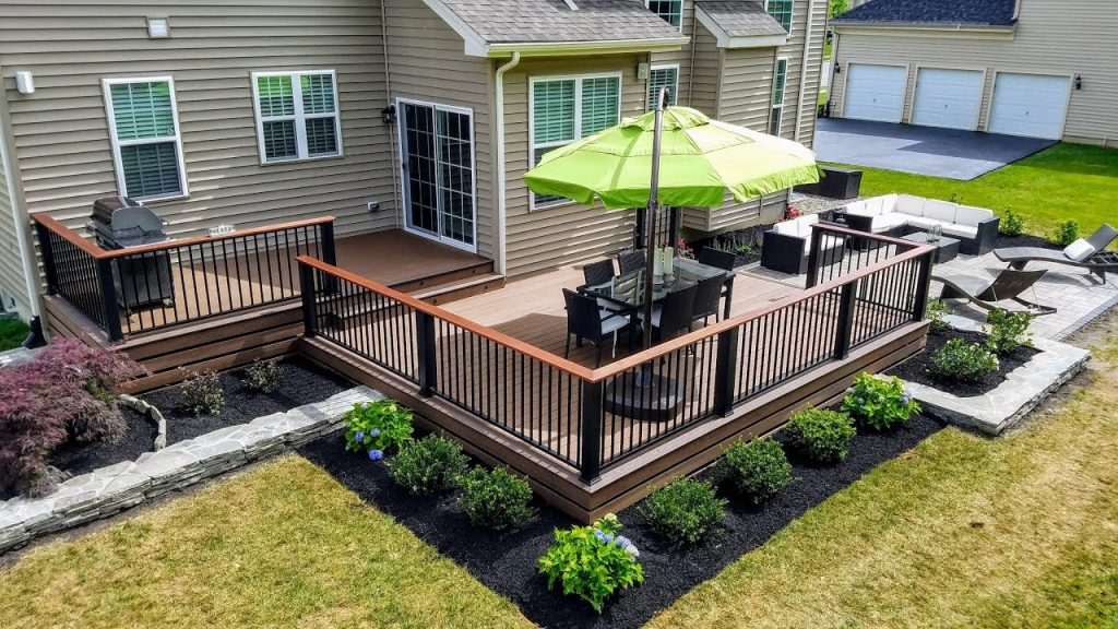 Landscaping planter boxes, landscaping architect, build and design firm in Houston